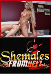 Shemales From Hell Porn Site Videos: shemalesfromhell.com