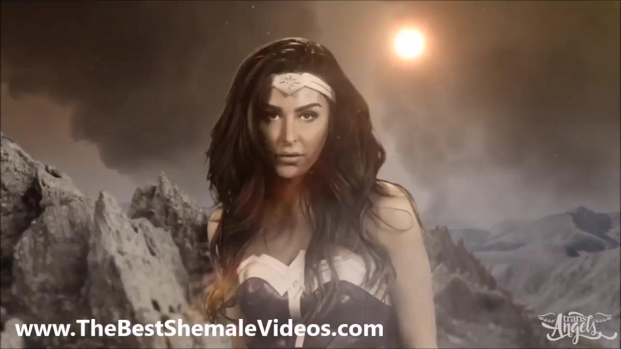 Wonder woman shemale porn videos