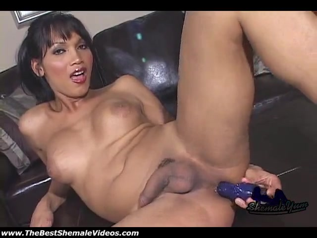 Huge Dildo Shoved Up Her Ass