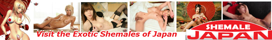 Shemale Japan logo image. Uncensored Japanese TS Website. Photos of Miran having sex and Karina Shiratori posing with her hard cock.